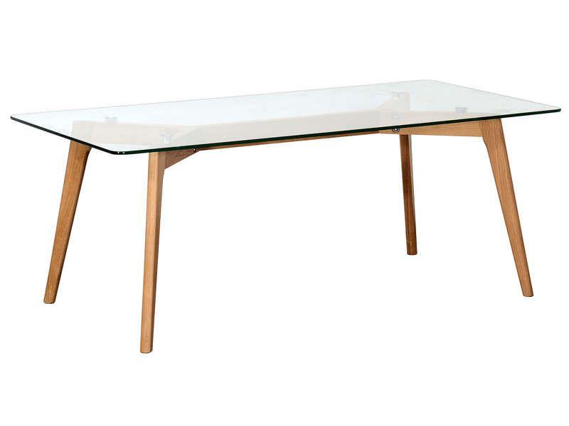 Table Basse Rectangulaire Avec Plateau En Verre Loom Pas Cher C 39 Est Sur Conforama Fr Large Choix Prix Di Table Basse Rectangulaire Table Basse Table