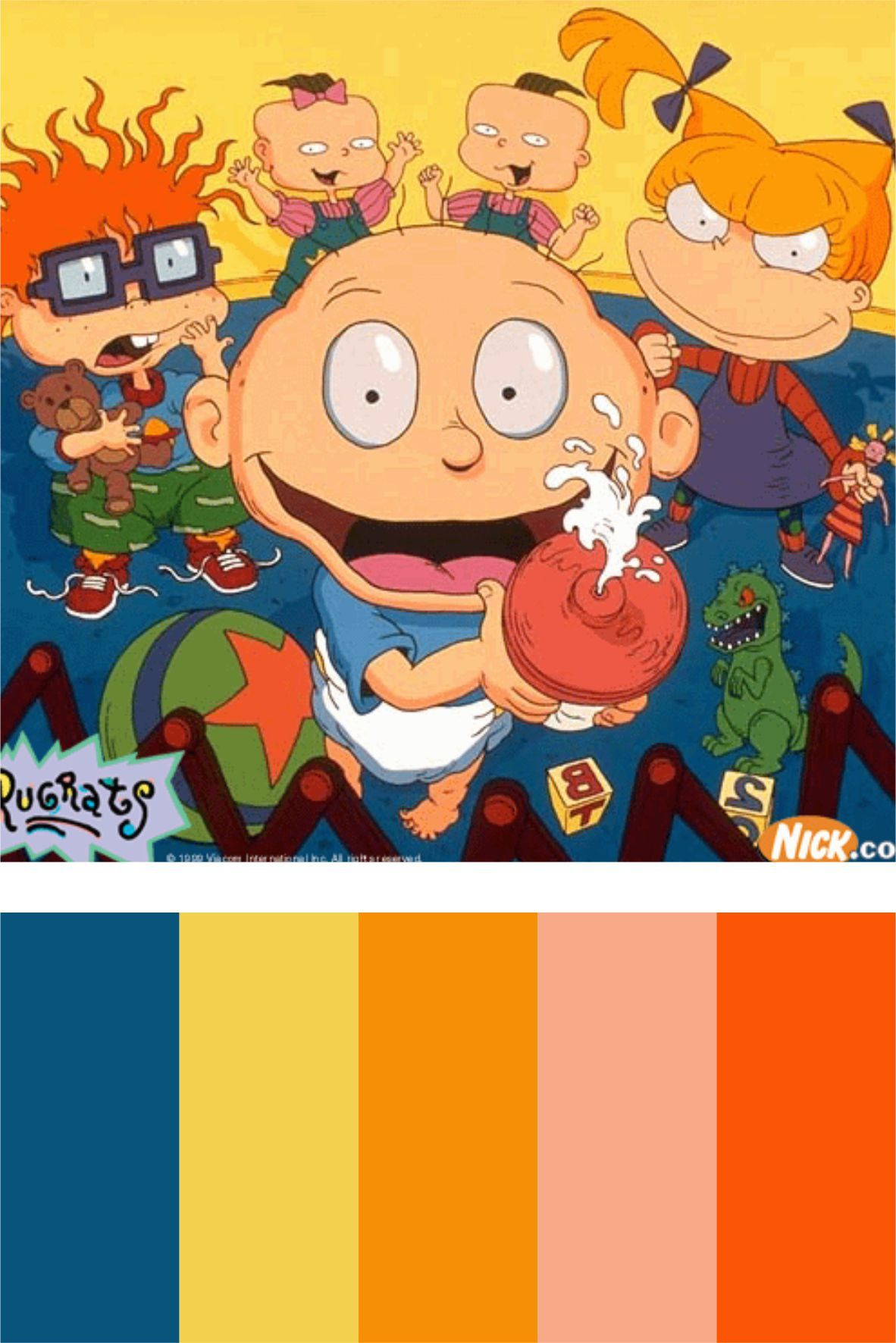 Rugrats- cutest cartoon ever :)
