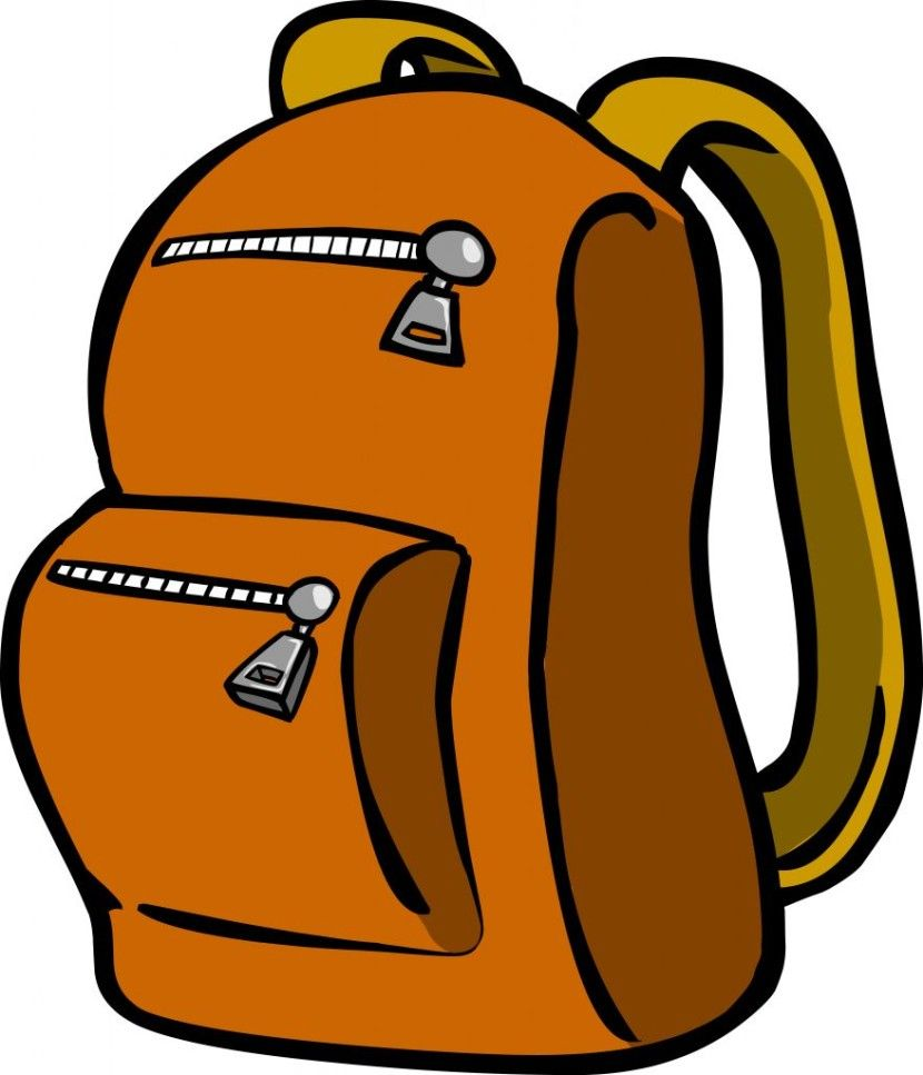 hiking backpack clipart free clip art images 830x967 jpg 830 967 rh pinterest com au  backpack clipart images