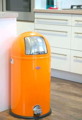 Wesco Kickboy Wit.Wesco Kickboy Kitchen Bin Home Ideas Blue Orange Kitchen