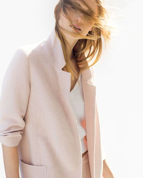 LONG JACKET WITH PATCH POCKETS