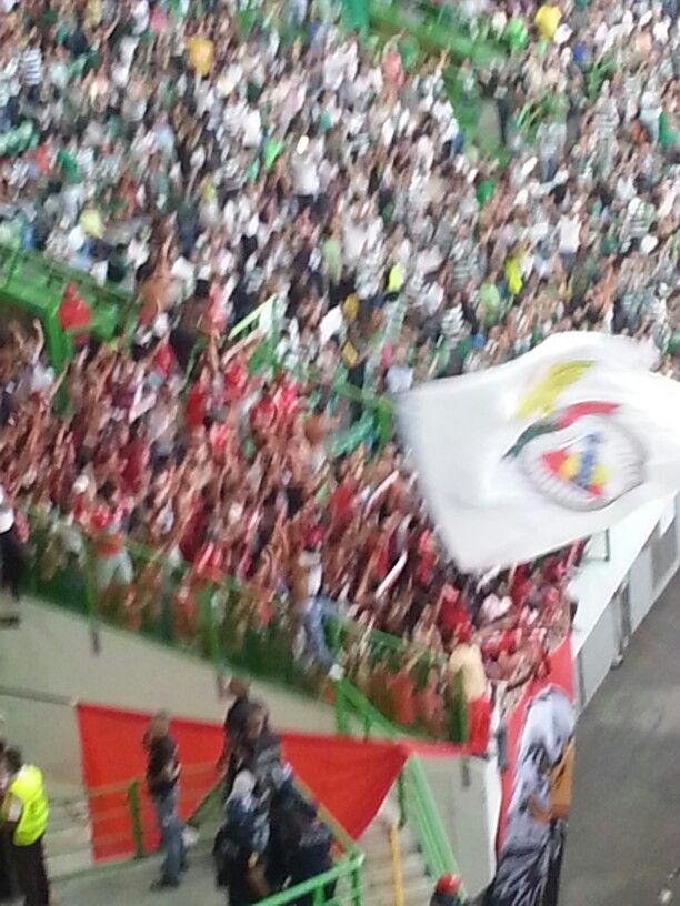 Jogo de futebol - Sporting - Benfica - 31 de agosto de 2013!