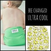 Little Bee Co. Cloth Diapers - Bee Changed Ultra Cool  For every diaper sold, they donate one diaper to an orphan in need. James 1:27
