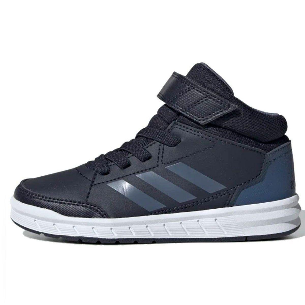 Buty Adidas Alkta Sport Mid Jr G27120 Granatowe Adidas High Top Sneakers Top Sneakers