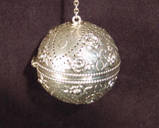 Antique Gorham Sterling Silver Tea Ball Infuser