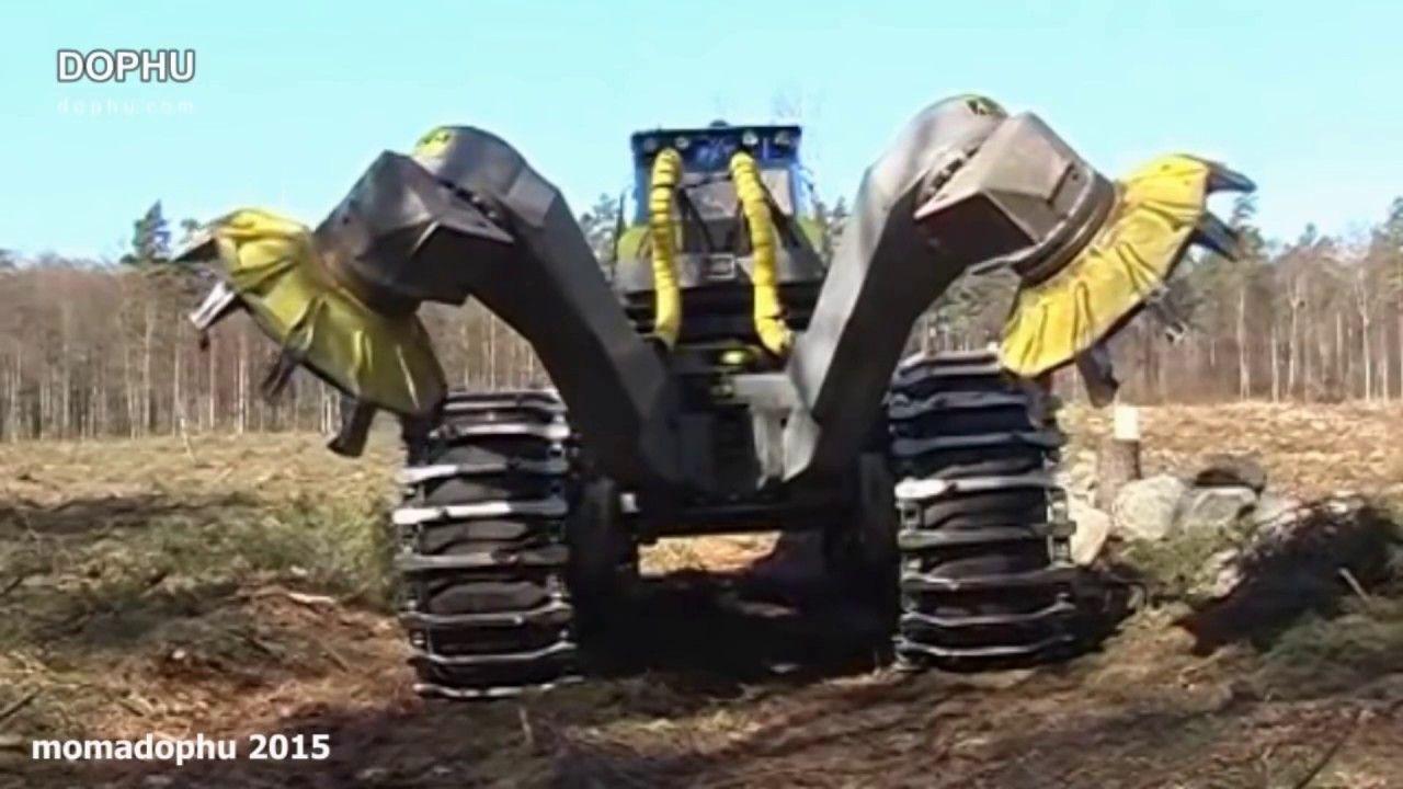 Amazing Heavy Equipment Tree Spade Machines World S Biggest