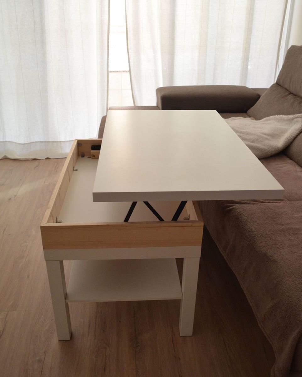 Diy Liftable Table I Could Totally Make This Pinterest
