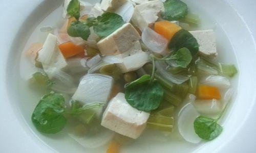 Macrobiotic recipe: Tofu broth  ~  excellent site for macro recipes