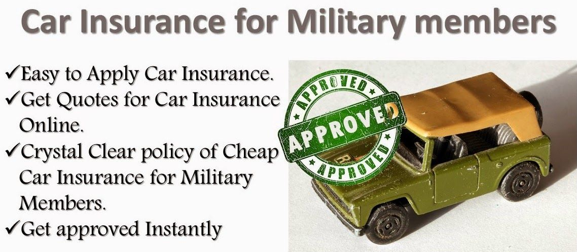 Get Military Car Insurance Quotes Which Are Cheaper And Easy To