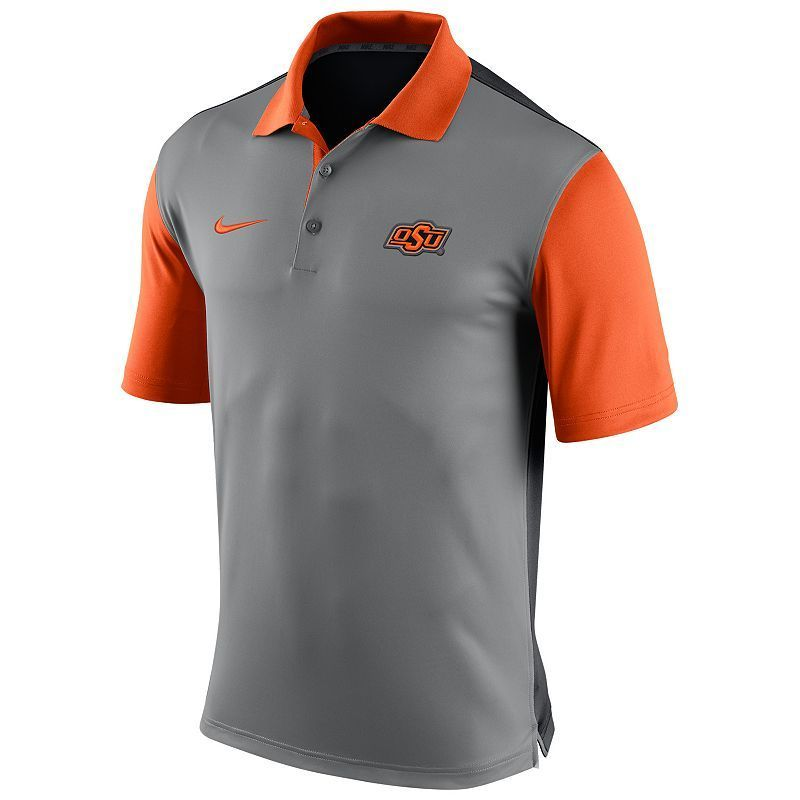 Men's Nike Oklahoma State Cowboys Preseason Dri-FIT Performance Polo, Size: