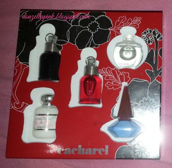 e407a7ad5 Kit de miniaturas de perfumes da Cacharel - Amor Amor