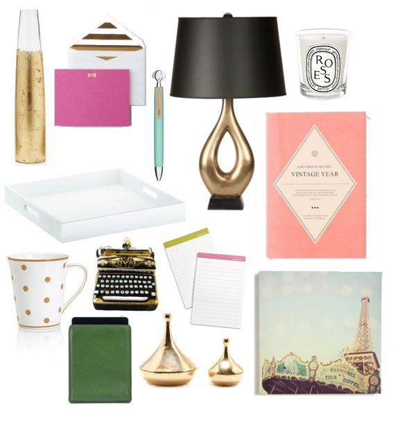 Gift Guide Desk Accessories For Your Glamorous Friend Chic Deskoffice