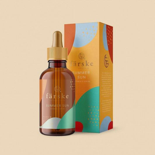 ? . ? Designed by: @brand__nu . For: Summer Sun is a Vitamin D serum for long winter seasons with low sun exposure. . ? To be featured use: ? @worldbranddesign ? Submit full case study at: ? /submit ? . ?