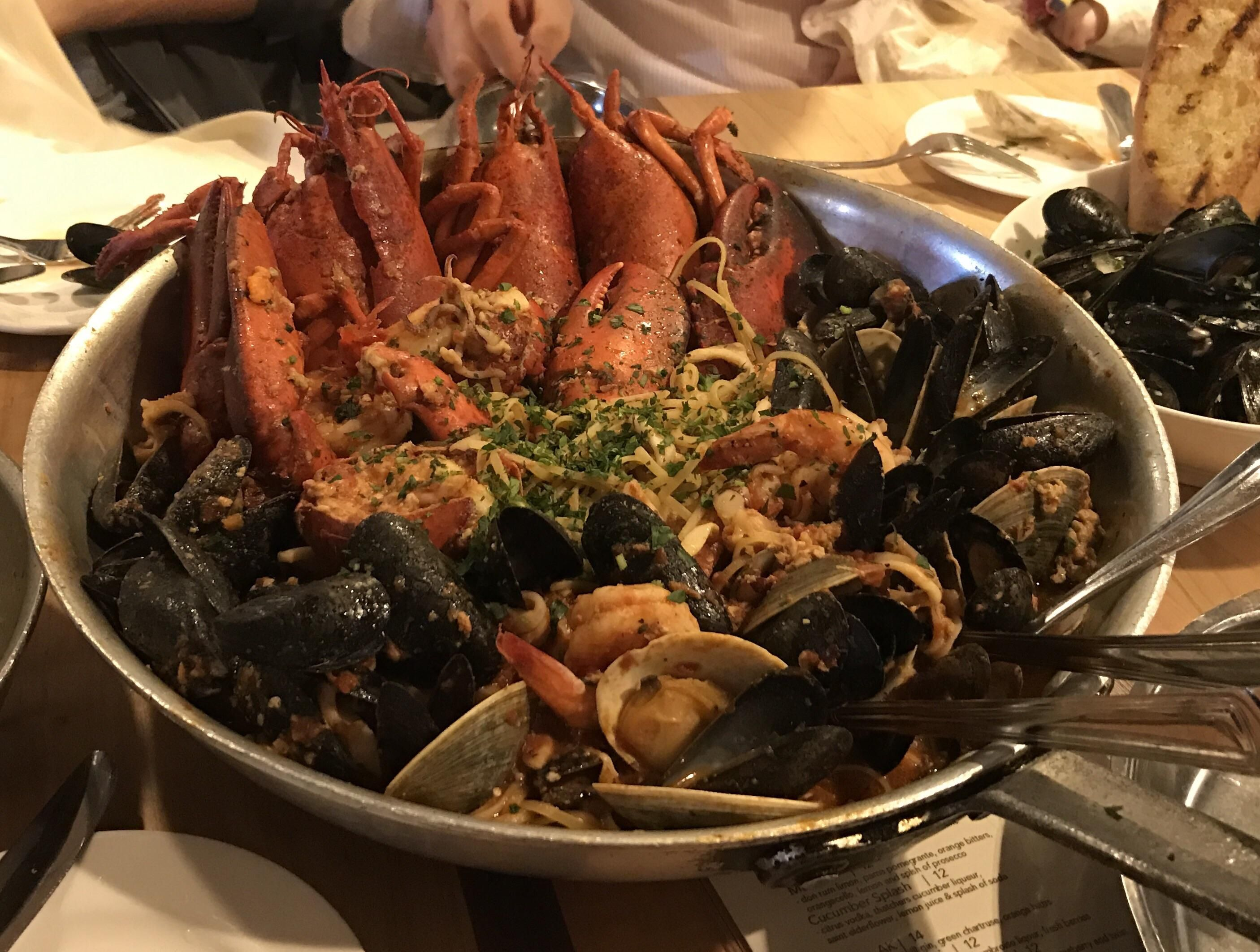 [I ate]Lobster fra diavolo. #recipes #food #cooking #delicious #foodie #foodrecipes #cook #recipe #health