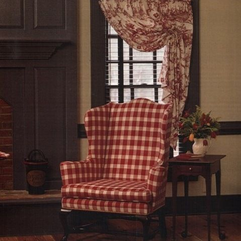 picturesque charming living room curtains ideas | Colonial Williamsburg Interiors Colonia Design Ideas ...