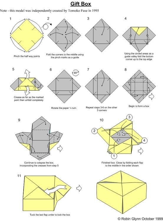 origami box triangle diagram origami rh pinterest com origami box instructions origami box instructions printable