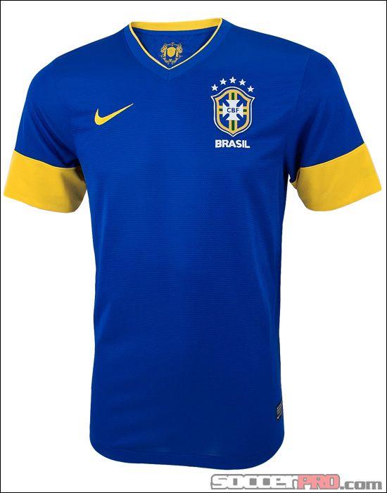e9385a8bf Nike Brazil Away Jersey - 2012... 76.49