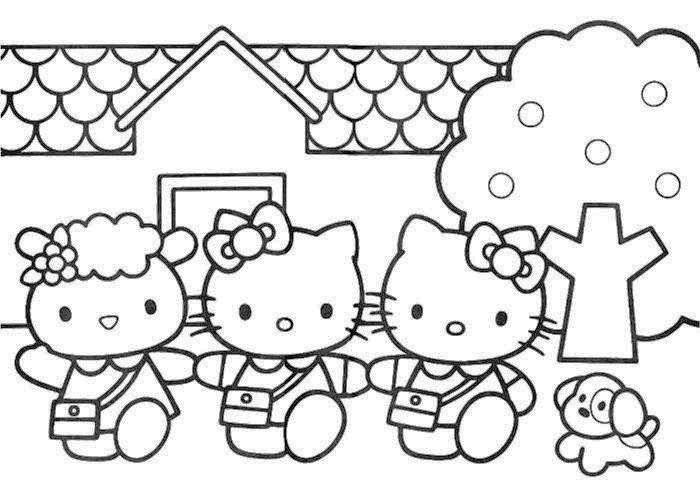 Coloringkids Net Hello Kitty Coloring Hello Kitty Art Hello Kitty