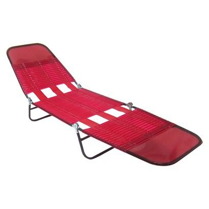Re Jelly Lounger Red Pink Possible Tanning Chair Lounger Red