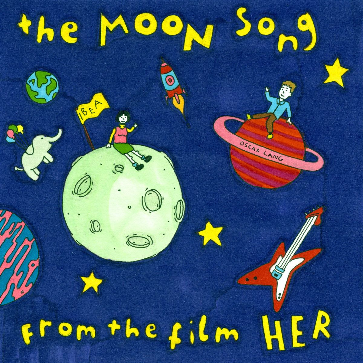 Pin by haylee reed on art moon song music album cover