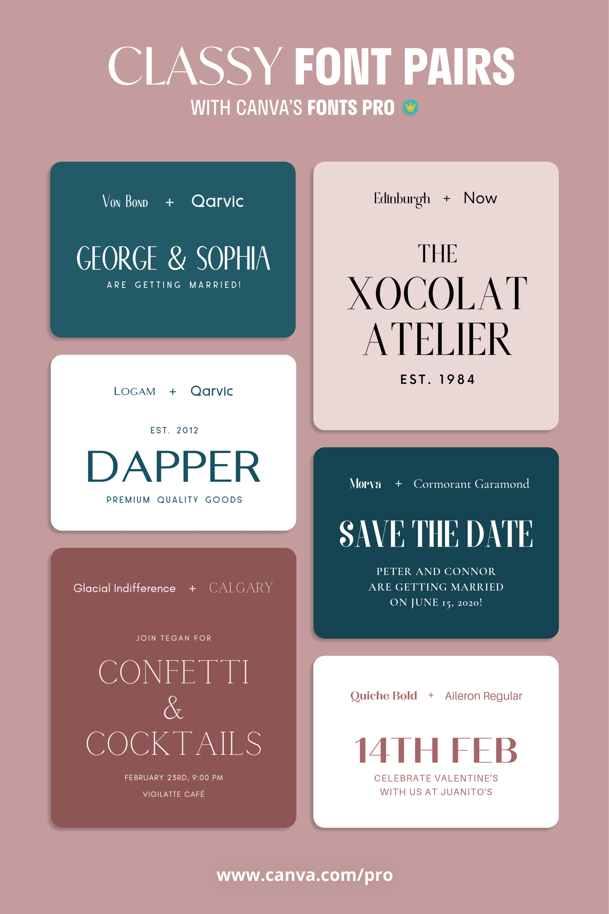 Font Combination Tips For Minimalist Posters Font Pairing Classy Fonts Font Combinations