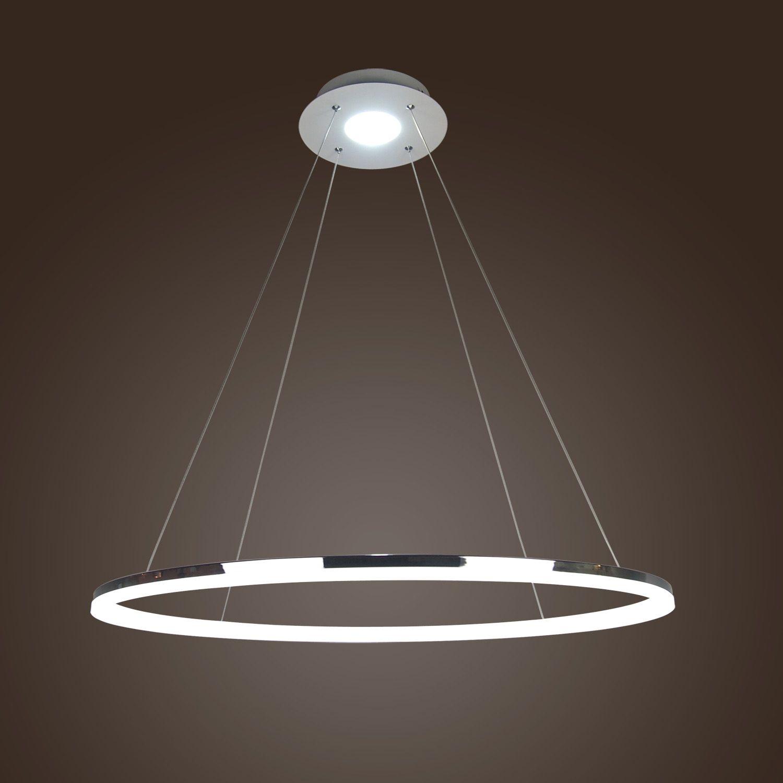 Led Pendant Light Acrylic Ceiling Light 80cm Ring Lamp Angel S Halo Hanging Ceiling Light Fixtures Hanging Ceiling Lights Ceiling Lights