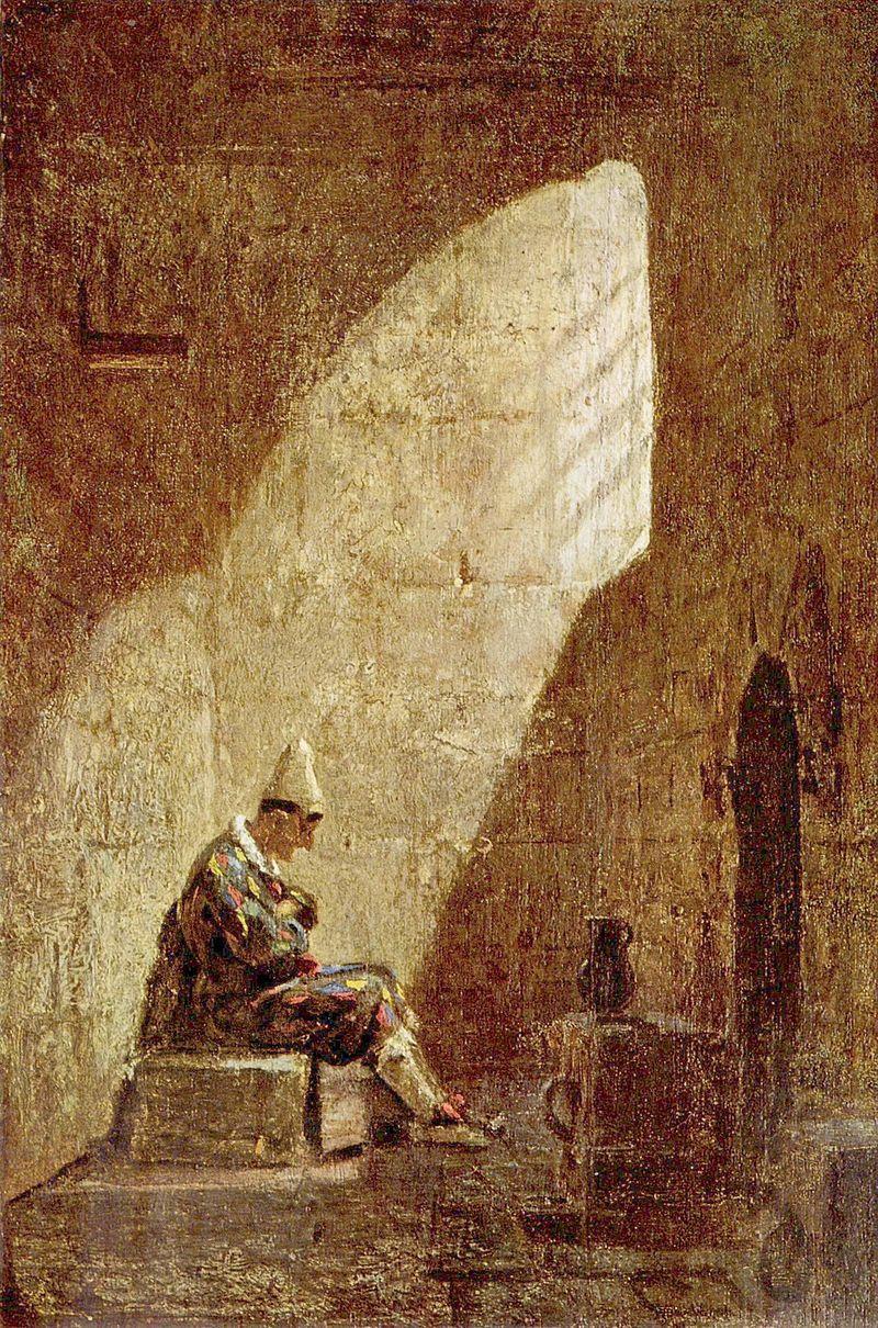 Carl Spitzweg Aschermittwoch Ash Wednesday 1855 1860 Coole
