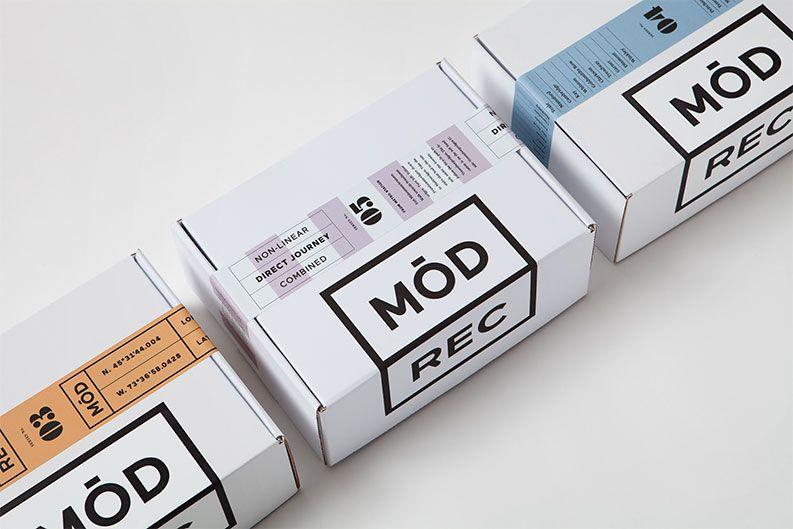 Modern Recreation Branding | Recent packaging | Portfolio