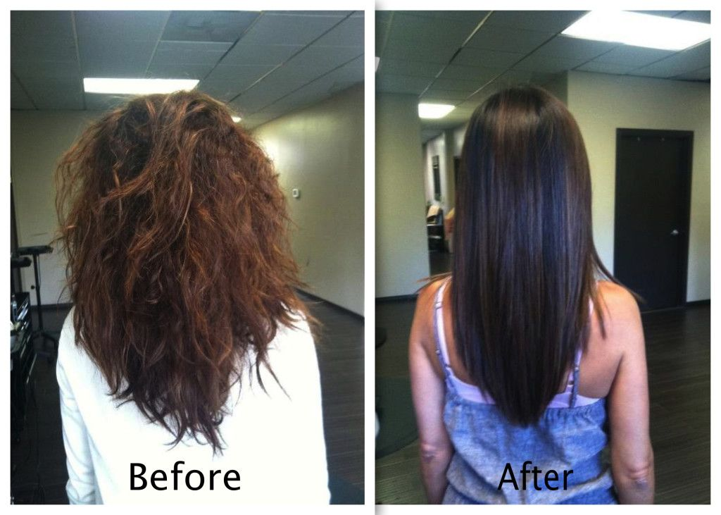 Keratin Treatment Before And After Hair Pinterest Keratin