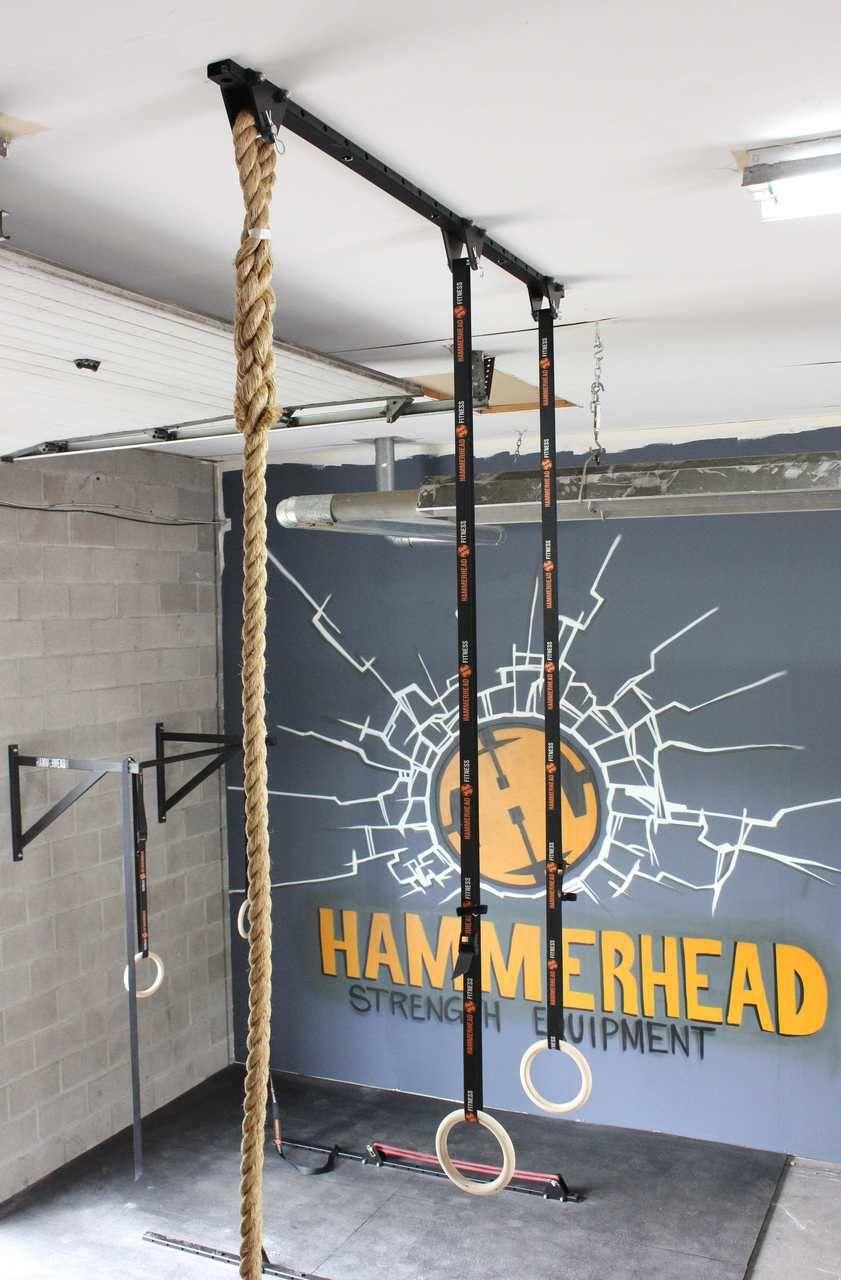 Pin by hendrik schoeman on indoor gym ideas ceiling hangers