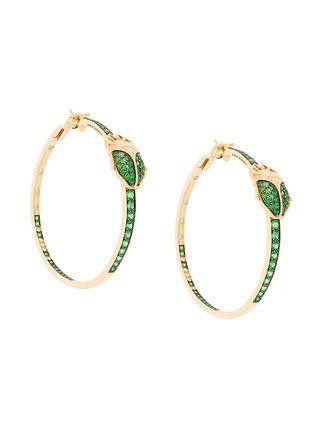 Aurélie Bidermann 18kt gold & diamond drop earrings 1RdfCuB