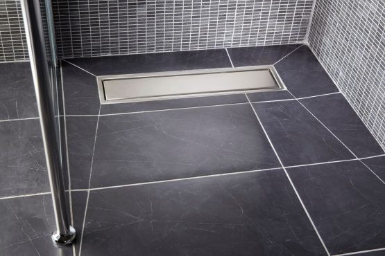 Curbless Level Entry Linear Drain Showers Simplified With