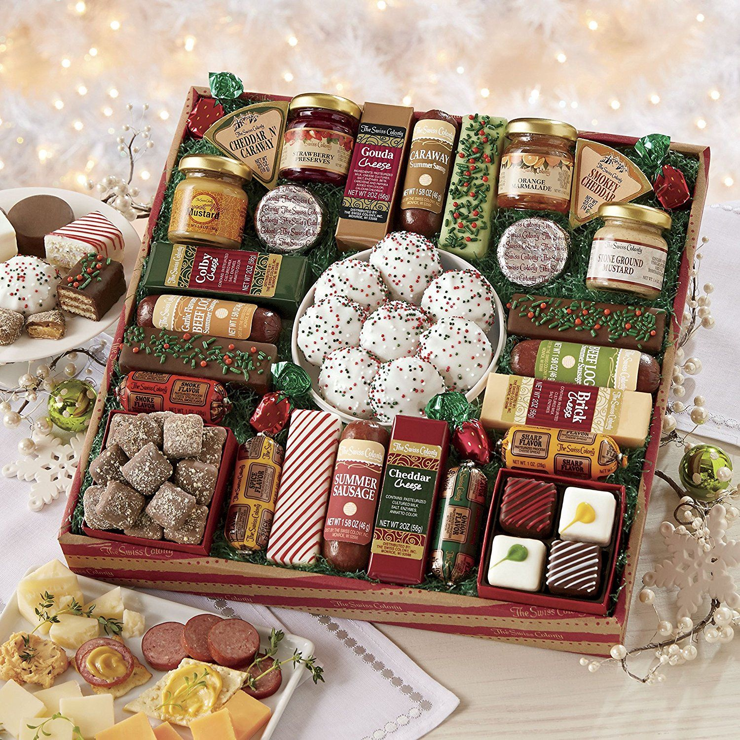 Gourmet Food Gift Baskets - Best Cheeses, Sausages, Meat & Seafood ...