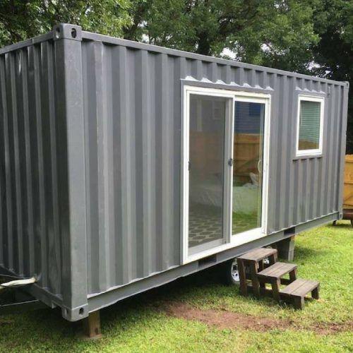 Atlanta tiny shipping container house shipping container homes pinterest casas de - Contenedores para vivir y precios ...