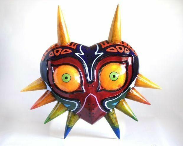 Majora Masklegend of zelda cosplay mask replicamajora mask costume