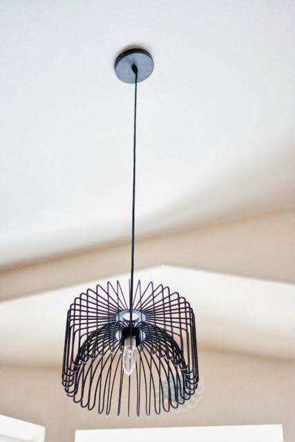 DIY express : une corbeille devient luminaire design