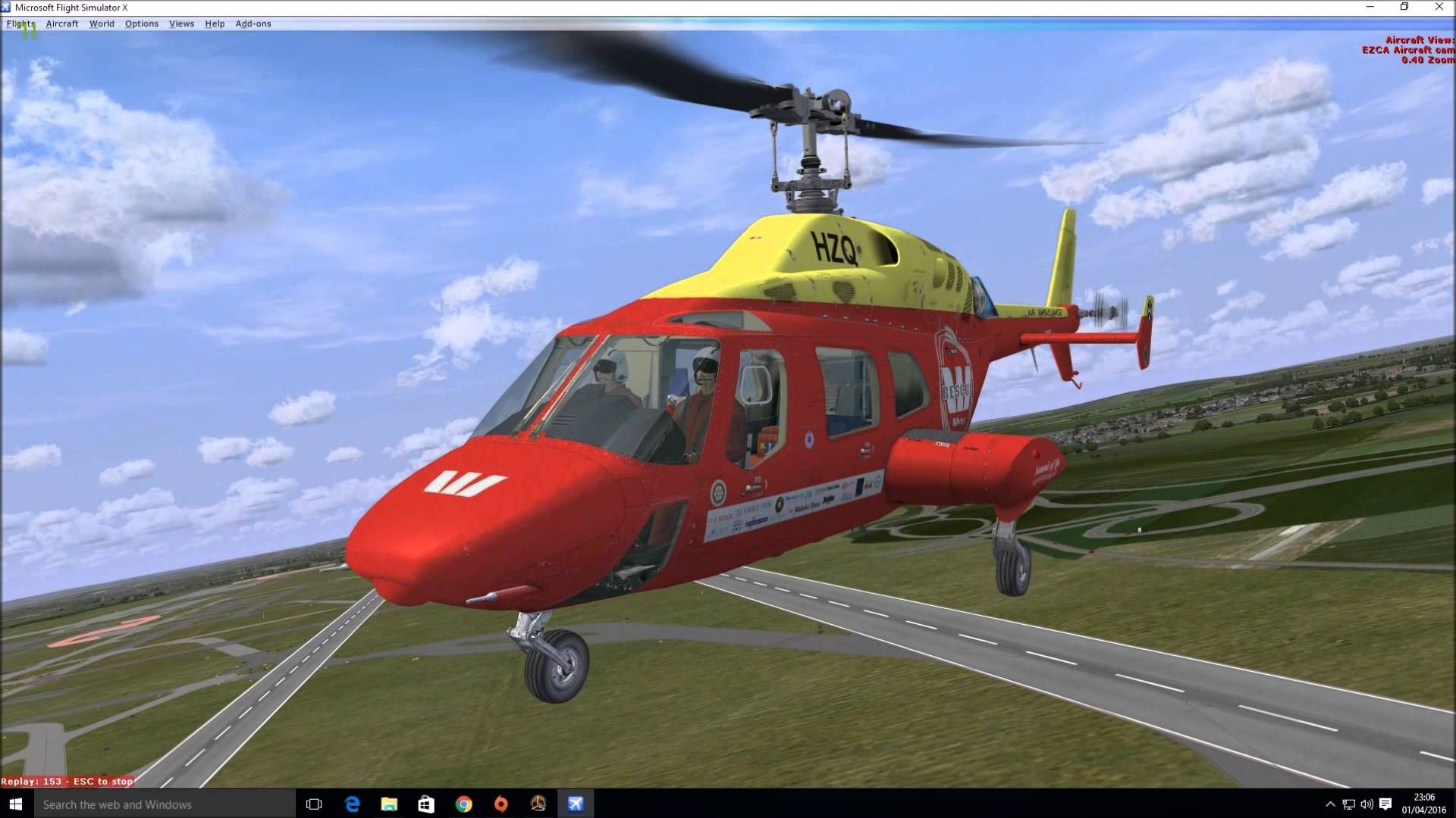 Quick Look at Cera Sim Bell 222B for FSX | Bell 222