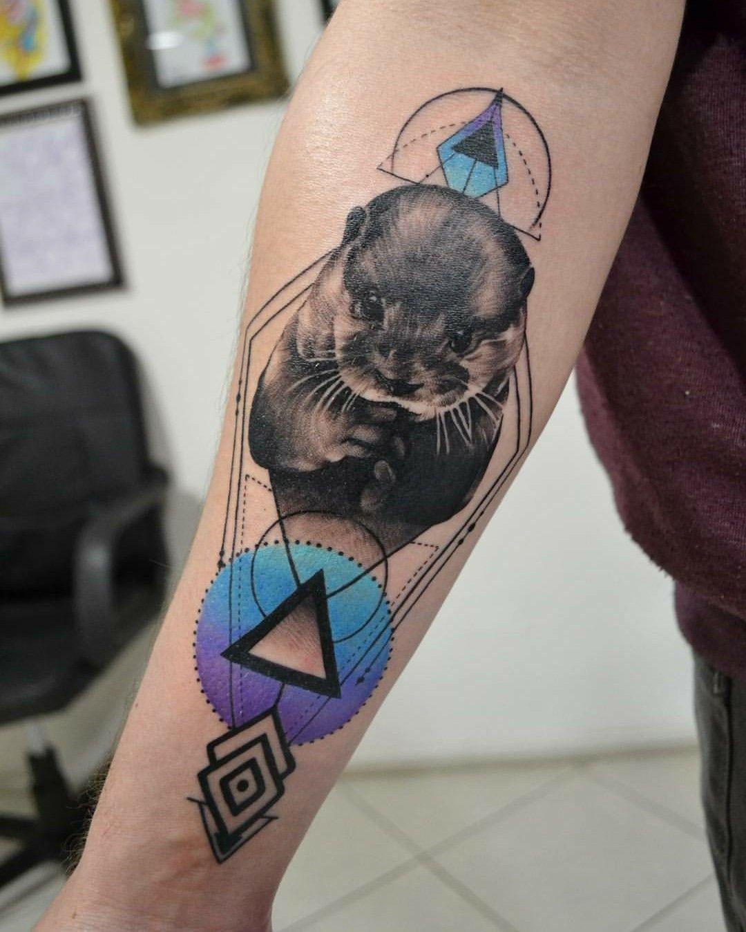 Ottertattoo Tattoo S Tattoos Otter Tattoo Skin Art