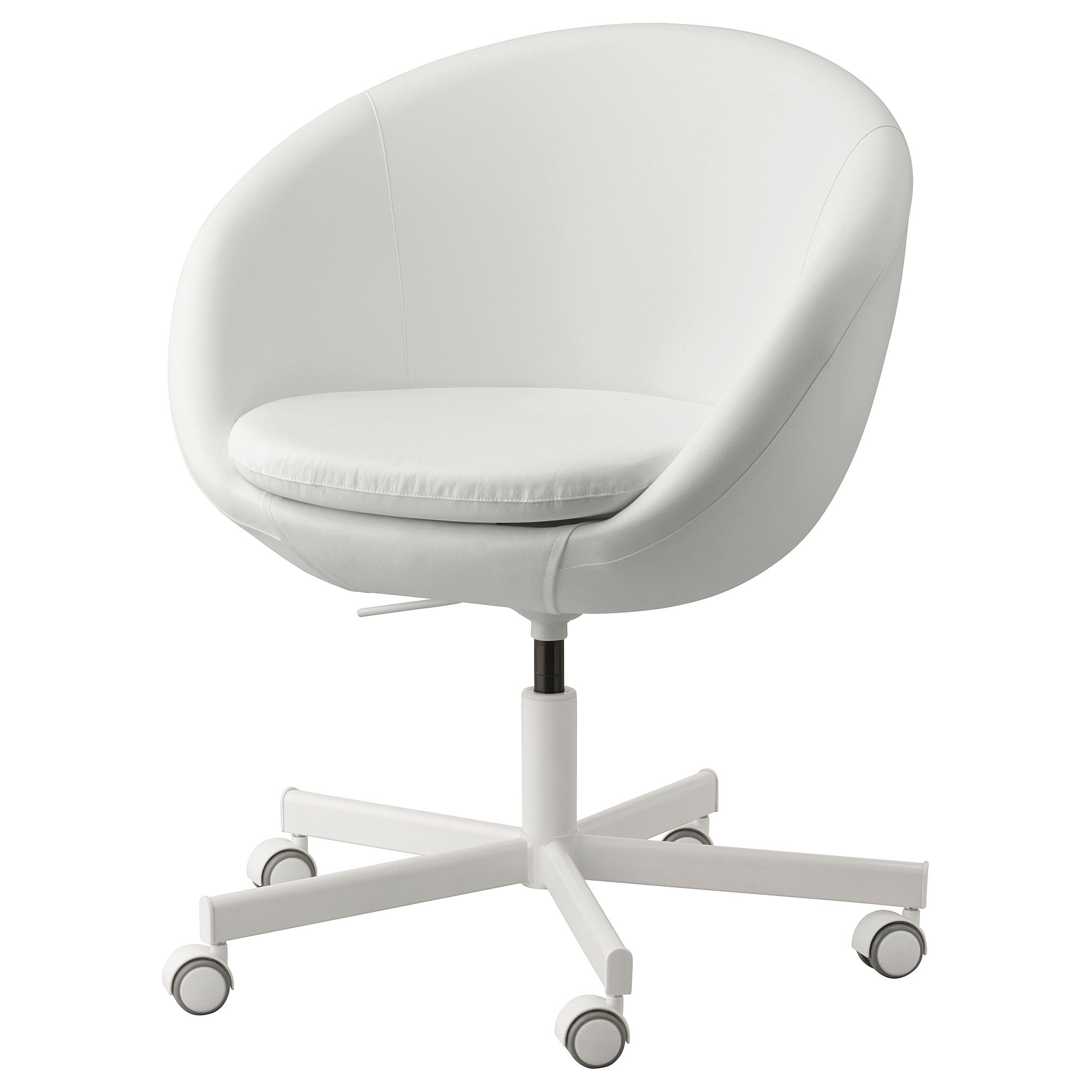 SKRUVSTA Swivel chair Ysane white in 2020 | Swivel chair