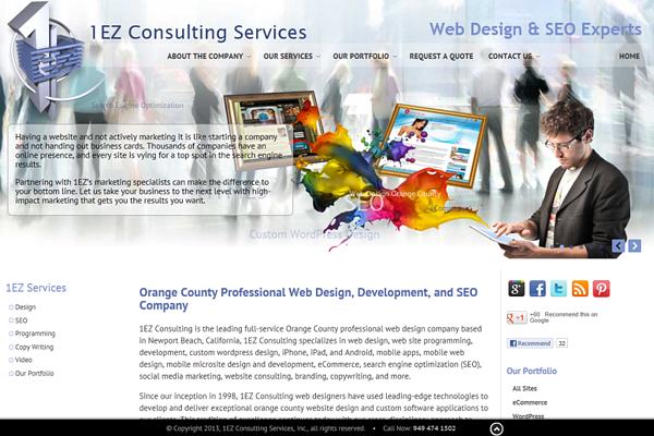 Orange County Web Design By Web Design Professional Web Design Web Design Firm