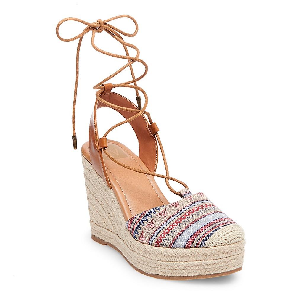 6cd17d722d7 Women's dv Carissa Closed Toe Espadrille Wedge Sandals - 9.5 ...
