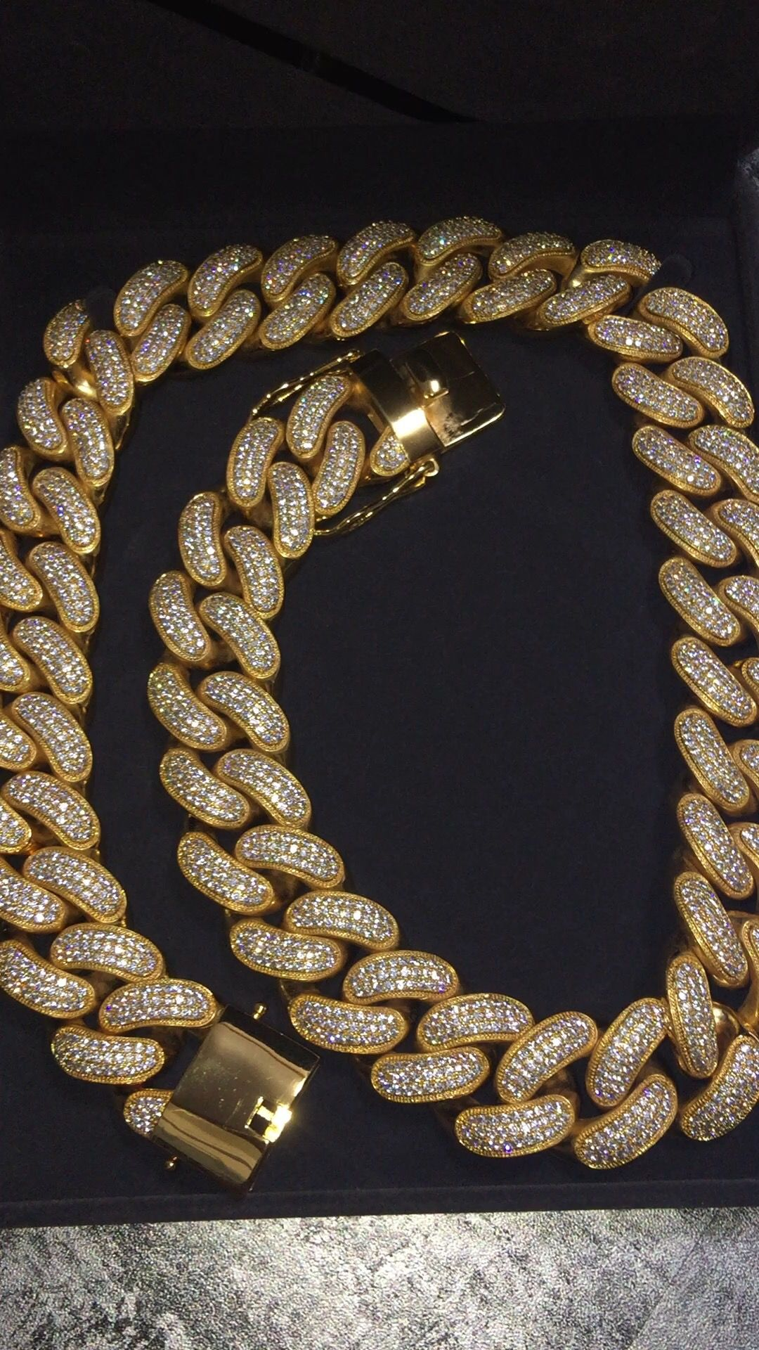 Miami Cuban Link Chain 30mm 30 Inches Shop All Jesus Piece