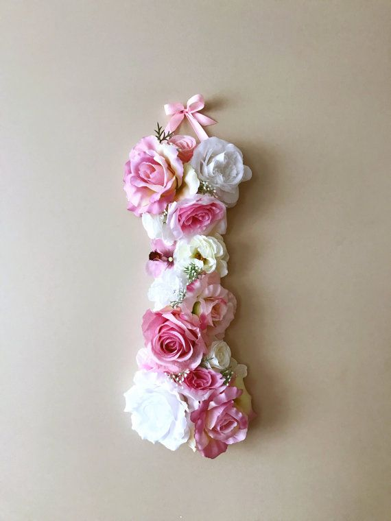 Baby Shower Flower Wall