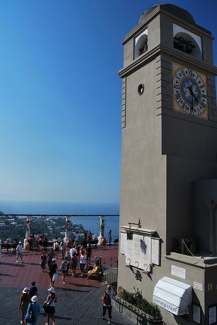 Belltower, Capri, Italy