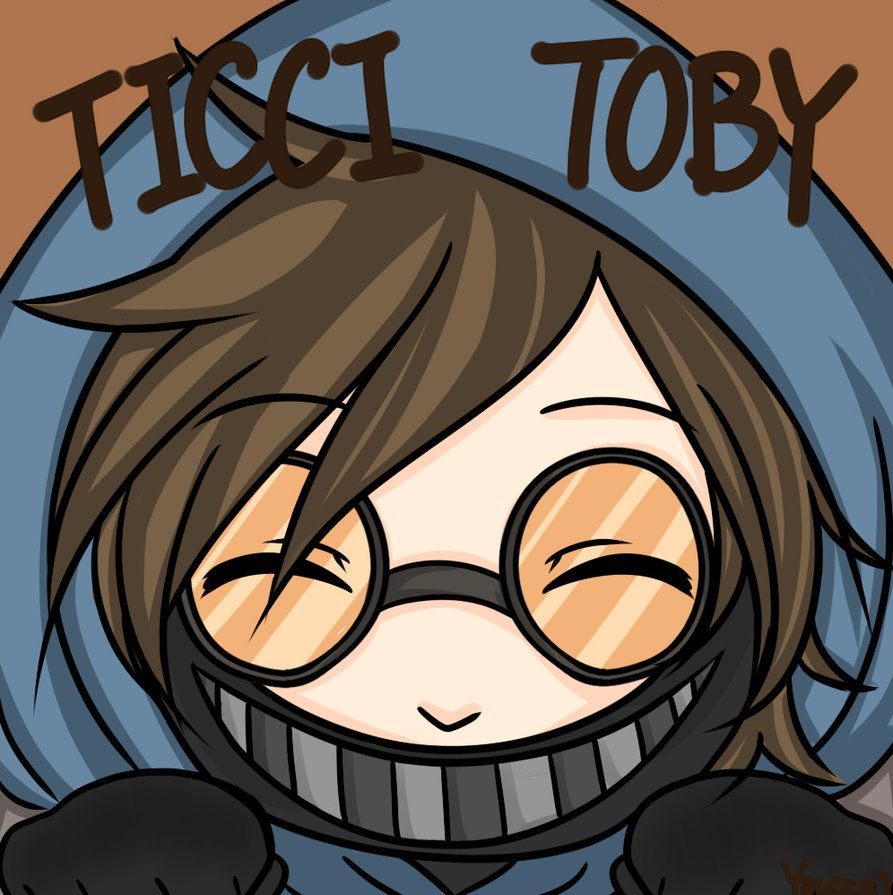 Creepypasta Ticci Toby X | ticci toby fan art by mikacapde