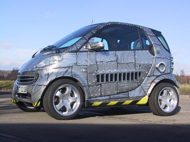 That S One Tough Smart Car Smart Car Smart Roadster Car Wrap