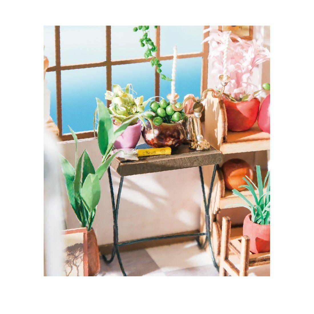 Photo of DIY Miniature Dollhouse Kit: Flower Shop