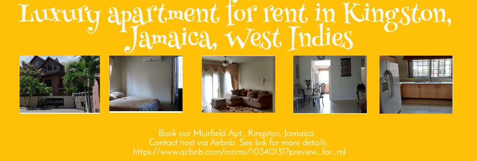 Make Your Own Photo About Book Our Muirfield Apt Kingston Jamaica Contact Host Via Airbnb See Link For More Details On Pixteller