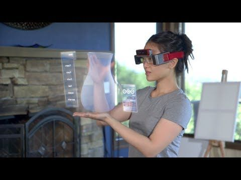 Video Spaceglasses Are The Future Of Computing Smart Glasses Augmented Reality Google Glass