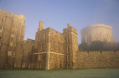 Henry II's Round Tower, for visitors, the most lasting image of Windsor Castle, wasn't always so tall. George IV added 10 meters to it - that's nearly 33 feet - in the early 19th century to make it look more castle-like.